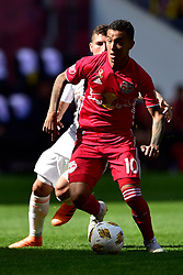 September 30, 2018 - Harrison, New Jersey, USA - New York Red Bulls Midfielder  ALEJANDRO GAMARRA (10) in action at Red Bull Arena in Harrison New Jersey New York defeats Atlanta 2 to 0 (Credit Image: © Brooks Von Arx/ZUMA Wire)