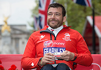 Wheelchair Men's Race third place finisher Kurt Fearnley AUS. The Virgin Money London Marathon, 23rd April 2017.<br /> <br /> Photo: Jed Leicester for Virgin Money London Marathon<br /> <br /> For further information: media@londonmarathonevents.co.uk