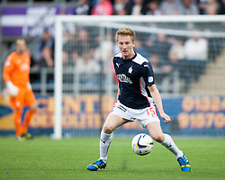 Falkirk's Liam Dick. Falkirk 0 v 2 Rangers, Scottish Championship game played 15/8/2014 at The Falkirk Stadium.