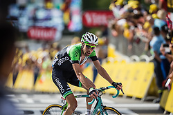 Laurens ten Dam (NED) of Belkin Pro Cycling, Tour de France, Stage 14: Grenoble / Risoul, UCI WorldTour, 2.UWT, Risoul, France, 19th July 2014, Photo by BrakeThrough Media