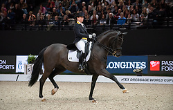 Isabell WERTH ( GER) & Weihegold OLD - Grand Prix Freestyle - FEI World Cup™ Dressage Final - FEI World Cup™ Dressage Final - Longines FEI World Cup Finals Paris - Accor Hotels Arena, Bercy, Paris, France - 14 April 2018