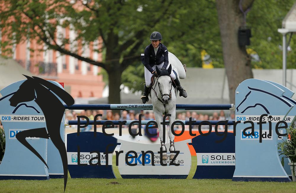 Offel, Katharina, Charlie<br /> Wiesbaden - Pfingstturnier 2015<br /> Qualifikation Riders Tour<br /> © www.sportfotos-lafrentz.de/Stefan Lafrentz