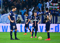 Deception PSG - Zlatan IBRAHIMOVIC - 05.04.2015 - Marseille / Paris Saint Germain - 31eme journee de Ligue 1<br />