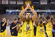 DESCRIZIONE : Ancona Lega A 2012-13 Sutor Montegranaro Angelico Biella<br /> GIOCATORE : Christian Burns<br /> CATEGORIA : esultanza<br /> SQUADRA : Sutor Montegranaro<br /> EVENTO : Campionato Lega A 2012-2013 <br /> GARA : Sutor Montegranaro Angelico Biella<br /> DATA : 02/12/2012<br /> SPORT : Pallacanestro <br /> AUTORE : Agenzia Ciamillo-Castoria/C.De Massis<br /> Galleria : Lega Basket A 2012-2013  <br /> Fotonotizia : Ancona Lega A 2012-13 Sutor Montegranaro Angelico Biella<br /> Predefinita :