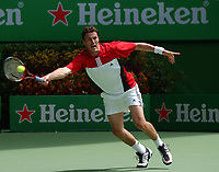 MELBOURNE, AUSTRALIA - JANUARY 23:  Marat Safin of USA in action during day five of the Australian Open January 23, 2004 in Melbourne, Australia. (Photo by Lars Mueller/Sportsbeat) *** Local Caption *** -
