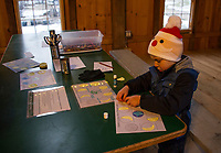 Winter Solstice celebration at Prescott Farm Environmental Center.  Karen Bobotas for the Laconia Daily Sun