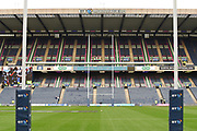 Murrayfield Stadium before the 2018 Autumn Test match between Scotland and Fiji at Murrayfield, Edinburgh, Scotland on 10 November 2018.