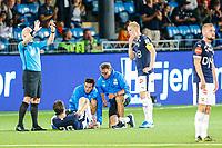 Fotball , 25. august 2019 , Eliteserien<br /> Strømsgodset - Sarpsborg 08<br /> Lars-Christopher Vilsvik, Strømsgodset<br /> Foto: Christoffer Hansen , Digitalsport
