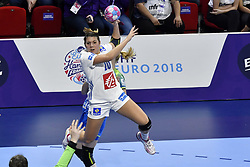 France player Laura Flippes during the Women's european handball chanmpionship preliminary round, Slovenia vs France. Nancy, Fance -02/12/2018//POLEMILE_01POL20181202NAN032/Credit:POL EMILE / SIPA/SIPA/1812021731