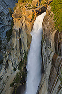 Nevada Fall, Grand Staircase of the Merced River, Yosemite National Park, California