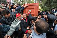 Funérailles de Chokri Belaid. 8 février 2013