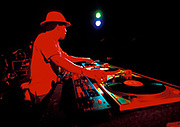 Norman Jay DJs in Miami, USA, 2000.