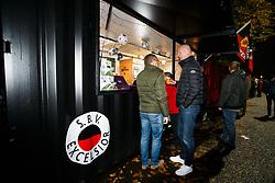 nieuwe horeca fan plein achter de Robin van Persie tribune van stadion Woudestein / van Donge en de Roo during the Dutch Eredivisie match between sbv Excelsior Rotterdam and Roda JC Kerkrade at Van Donge & De Roo stadium on November 04, 2017 in Rotterdam, The Netherlands