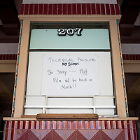 010215       Cable Hoover<br /> <br /> A posting in the box office of the El Morro Theatre says the theater will re-open in March. A digital projection upgrade is scheduled to coincide with theater expansion.