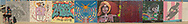 Various artists. Apologies that these aren't attributed to each individual artist. They may also be a bit distorted. These are stiched handheld panoramas...