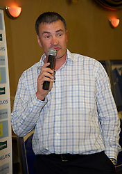LIVERPOOL, ENGLAND - Friday, May 7, 2010: Derek Mountfield during an Everton Charity Dinner to support Health Through Sport. (Pic by: David Rawcliffe/Propaganda)