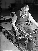 17/11/1952.11/17/1952.17 November 1952.Waterford Glass factory.