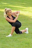 EXCLUSIVE - Billie Faiers looking stunning as she works out