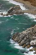 Rugged coastal headlands of Big Sur California