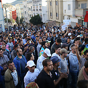Al Hoceima, 18 May, during the demonstration.