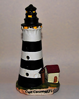 Cape Canaveral Lighthouse Replica. Image taken with a Nikon D700 camera and 28-300 mm VR lens (ISO 800, 44 mm, f/11, 1/60 sec, pop-up flash +1 EV)