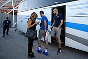 Cusin Marco, Benedetta Abbruzzese<br /> A|X Armani Exchange Milano - Fiat Torino<br /> Zurich Connect Supercoppa 2018-2019<br /> Lega Basket Serie A<br /> Brescia 30/09/2018<br /> Foto Ciamillo & Castoria