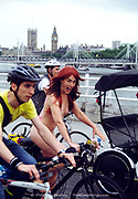 World Naked Bike Ride, London, England