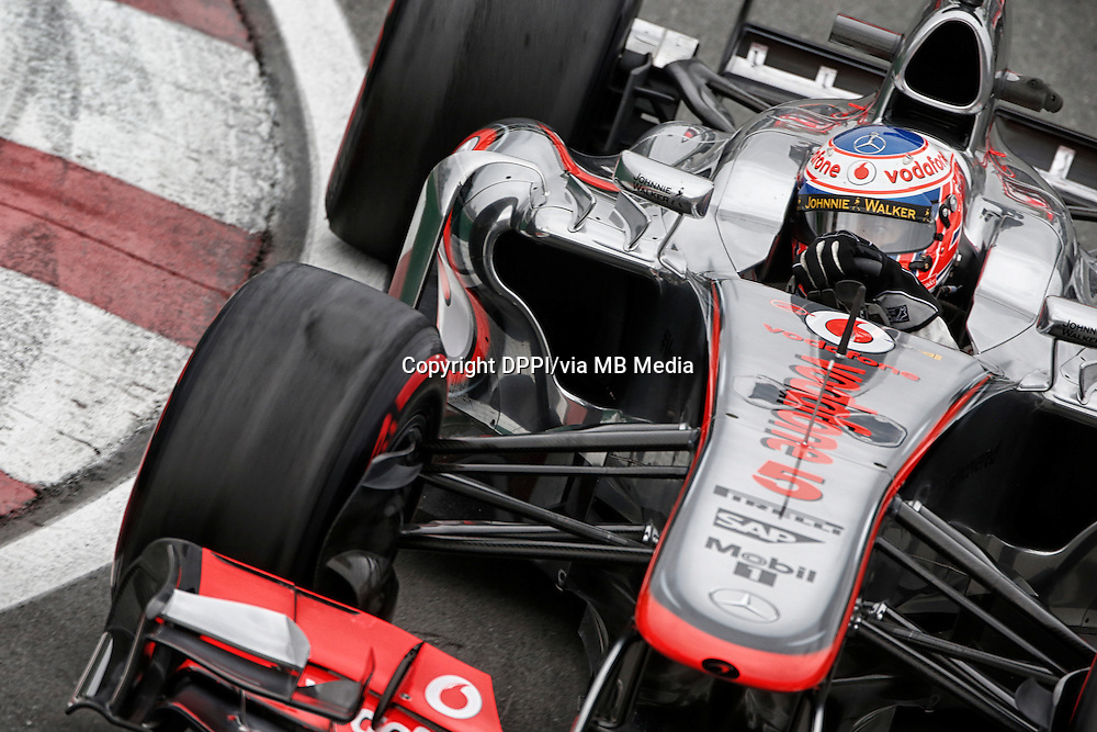 MOTORSPORT - F1 2013 - GRAND PRIX OF CANADA - MONTREAL (CAN) - 07 TO 09/06/2013 - PHOTO FRANCOIS FLAMAND / DPPI - BUTTON JENSON (GBR) - MCLAREN MERCEDES MP4-28 - ACTION
