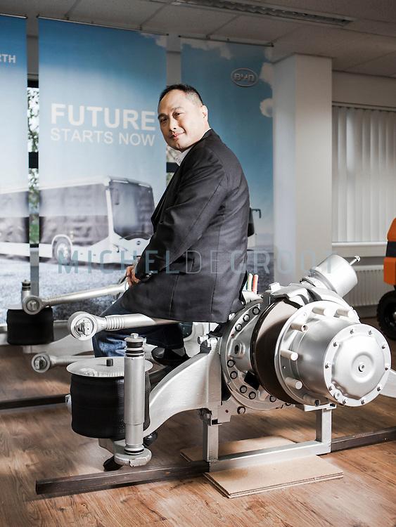 Isbrand Ho, CEO van BYD in Rotterdam
