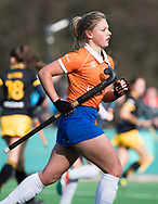 BLOEMENDAAL - Chloe Watkins (Bl'daal). hockey hoofdklasse dames Bloemendaal-Den Bosch (0-6) . COPYRIGHT KOEN SUYK