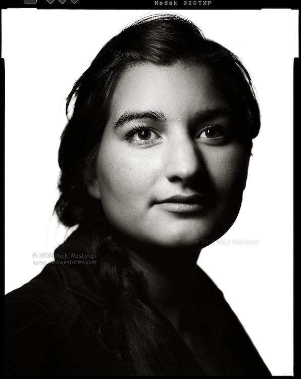 A portrait of Julia, artist.