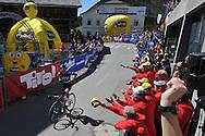 40° Giro del Trentino Melinda 2a tappa Arco- Anrass 220km 20 Aprile 2016 © foto Natascia Graziola\ Daniele Mosna