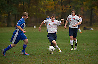Pittsfield varsity boys soccer versus Epping high school October 10, 2012.