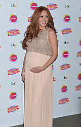 Pictured is pregnant Natasha Hamilton.<br /> Lorraine's High Street Fashion Awards 2014 at Vinopolis, London, UK.<br /> Wednesday, 21st May 2014. Picture by Ben Stevens / i-Images