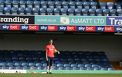 Nathan Bishop of Southend United during the warm up - Mandatory by-line: Arron Gent/JMP - 24/07/2019 - FOOTBALL - Roots Hall - Southend-on-Sea, England - Southend United v Millwall - pre season friendly