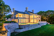 Pond House, Originally constructed by famed architect Stanford White, the home was renovated and enlarged by builder Jeffrey Colle', Briar Patch Rd, Georgica Pond, East Hampton, NY