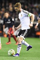 Valencia's Shkodran Mustafi during 2015/16 La Liga match between Valencia and Atletico de Madrid at Mestalla stadium in Madrid, Spain. March 6, 2016. (ALTERPHOTOS/Javier Comos)