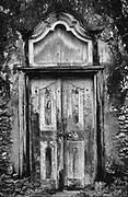 Old door in the Galle Fort.