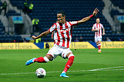 Stoke City midfielder Thomas Ince (7) during the EFL Sky Bet Championship match between Preston North End and Stoke City at Deepdale, Preston, England on 21 August 2019.