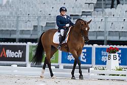 Demi Vermeulen, (NED), Vaness - Individual Test Grade II Para Dressage - Alltech FEI World Equestrian Games™ 2014 - Normandy, France.<br /> © Hippo Foto Team - Jon Stroud <br /> 25/06/14