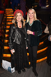 Imogen Stubbs and Anneka Rice at the Costa Book Awards 2017 held at  Quaglino's, 16 Bury Street, London England. 30 January 2018.