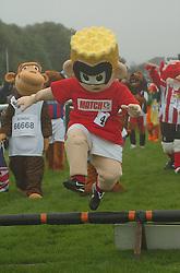 MASCOT MATCHY (Match Magazine), CLEARS A HURDLE, John Smiths Mascot Grand National, Huntingdon Racecourse Sunday 5th October 2008