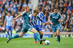 Solly March of Brighton & Hove Albion in action - Mandatory by-line: Jason Brown/JMP - 17/04/2017 - FOOTBALL - Amex Stadium - Brighton, England - Brighton and Hove Albion v Wigan Athletic - Sky Bet Championship