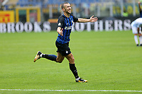 10.09.2017 - Milano - Serie A 2017/18 - 2a giornata  -  Inter-Spal nella  foto: Ivan Perisic esulta dopo il gol del 2 a 0