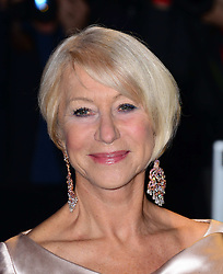 Helen Mirren arriving at the London Evening Standard Theatre Awards in London, Sunday, 17th November 2013. Picture by Nils Jorgensen / i-Images