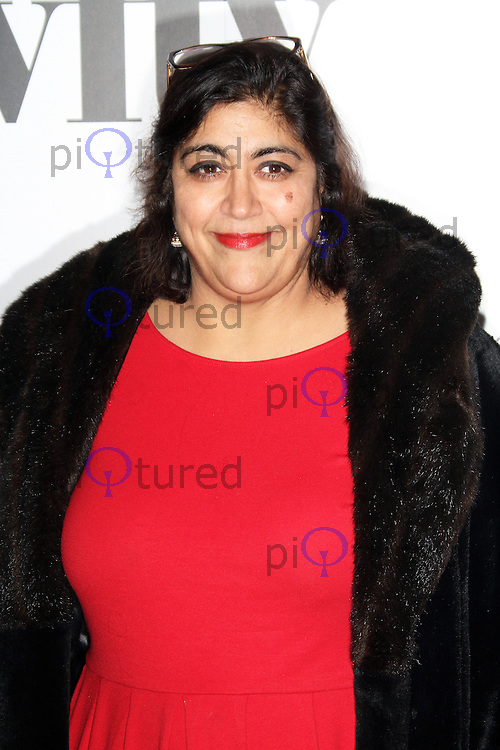 LONDON - DECEMBER 07: Gurinder Chadha attended the Women in Film and TV Awards at the London Hilton Hotel, Park Lane, London, UK. December 07, 2012. (Photo by Richard Goldschmidt)