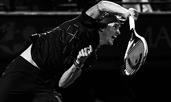 March 30, 2018 - Miami, Florida, United States - Alexander Zverev, from Germany, in action against Pablo Carreno Busta, from Spain, during his semi final match at the Miami Open in Key Biscayne. Zverev defeated Carreno Busta 7-6(4), 6-2 in Miami, on March 30, 2018. (Credit Image: © Manuel Mazzanti/NurPhoto via ZUMA Press)
