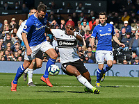 Football - 2018 / 2019 Premier League - Fulham vs. Everton<br /> <br /> Ryan Babel Fulham on the attack, at Craven Cottage.<br /> <br /> COLORSPORT/WINSTON BYNORTH