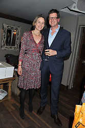 WILLIAM & LAURA SITWELL at a party to celebrate the publication of A History of Food in 100 Recipes by William Sitwell held at Archer street, 3-4 Archer Street, London W1 on 11th April 2012.