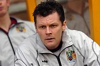 Photo: Kevin Poolman.<br />Wolverhampton Wanderers v Burnley. Coca Cola Championship. 17/02/2007. Burnley manager Steve Cotterill.